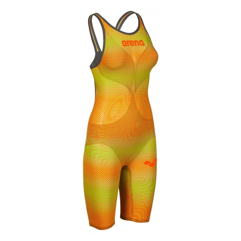 ARENA Carbon Air2 FBSL Open Back Lime-Orange